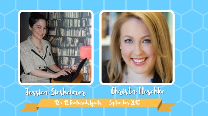 Jessica Sinsheimer & Christa Heschke – 12 X 12 Featured Agents September 2018