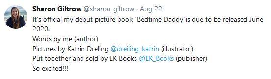 Sharon Giltrow Bedtime Daddy Contract