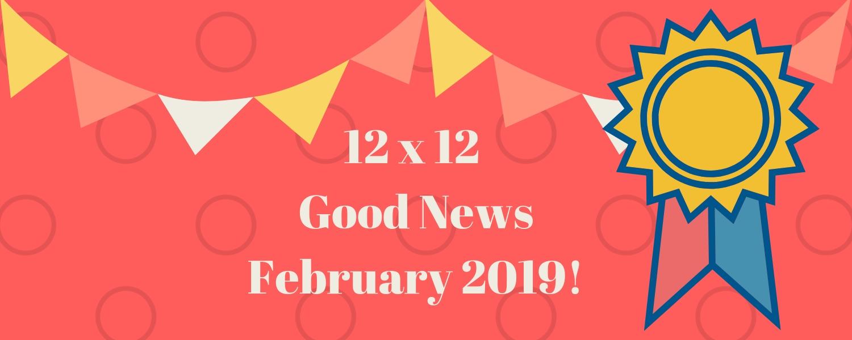 12 X 12 Good News 02-2019