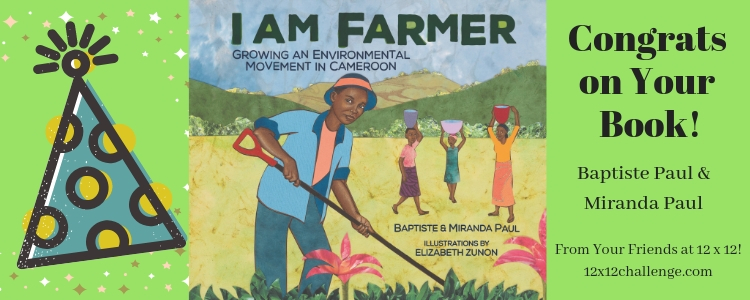 I Am Farmer by Baptiste Paul and Miranda Paul banner