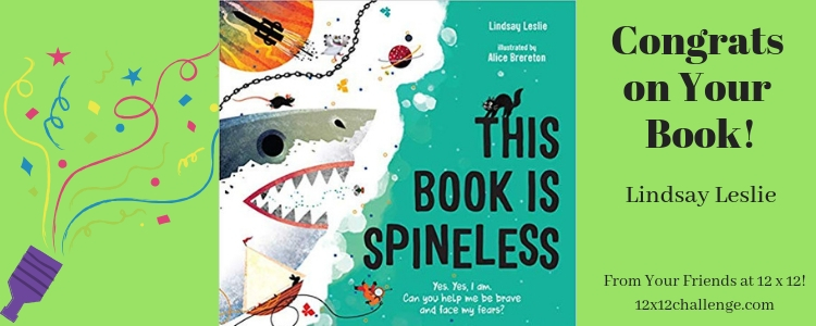 This Book is Spineless by Lindsay Leslie banner