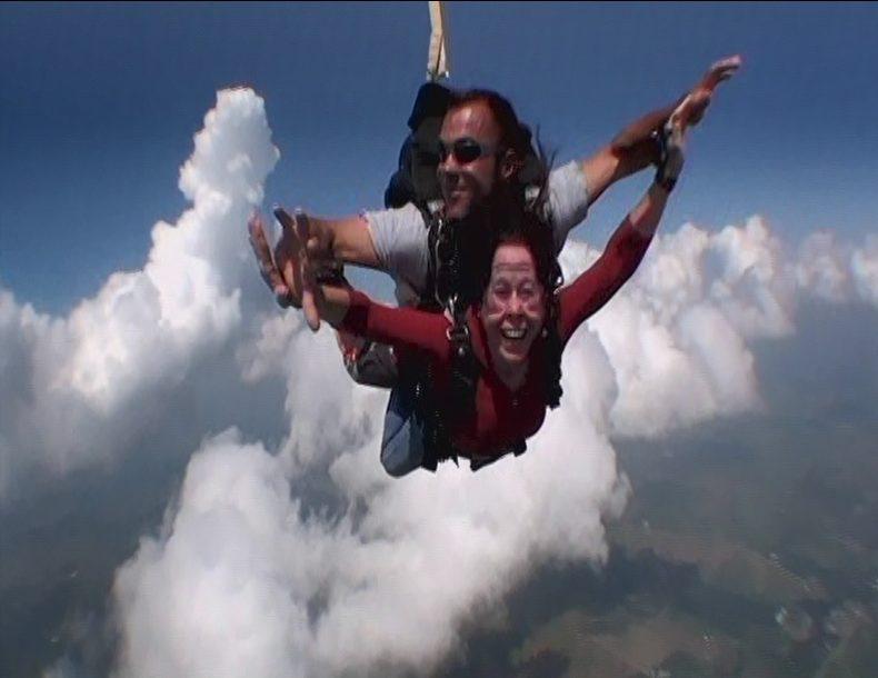 Vivian Kirkfield skydive 2