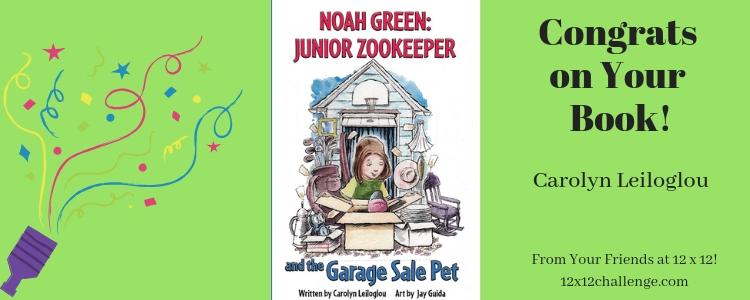 Noah Green Junior Zookeeper by Carolyn Leiloglou