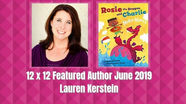 12 X 12 Featured Author June 2019 – Lauren Kerstein
