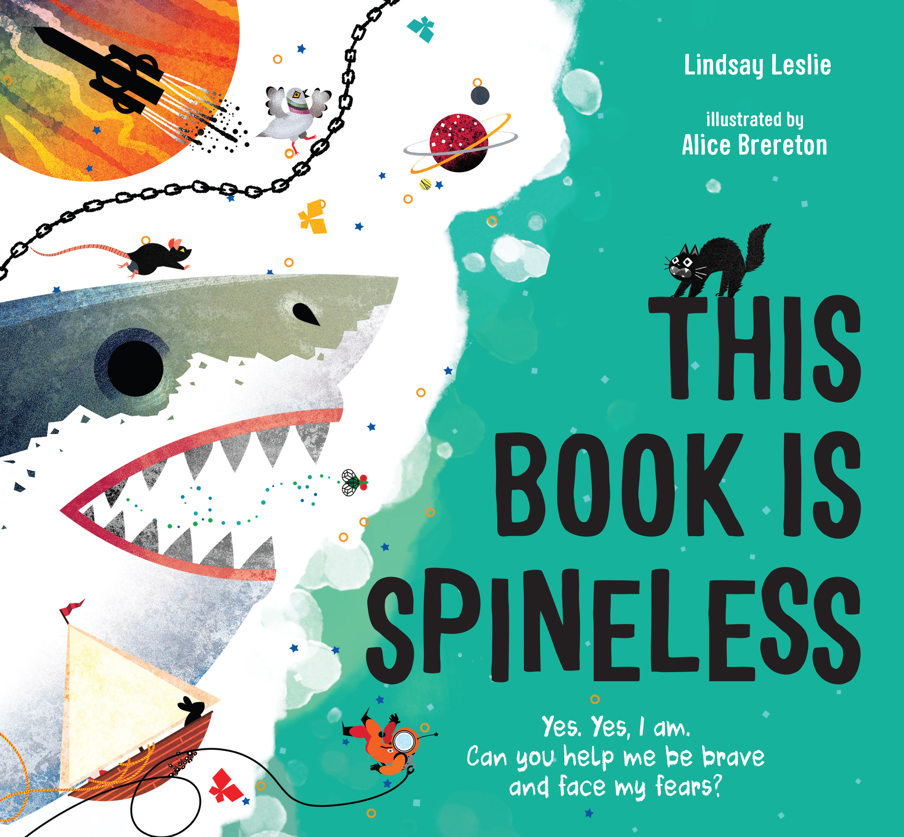 This Book is Spineless by Lindsay Leslie Cover