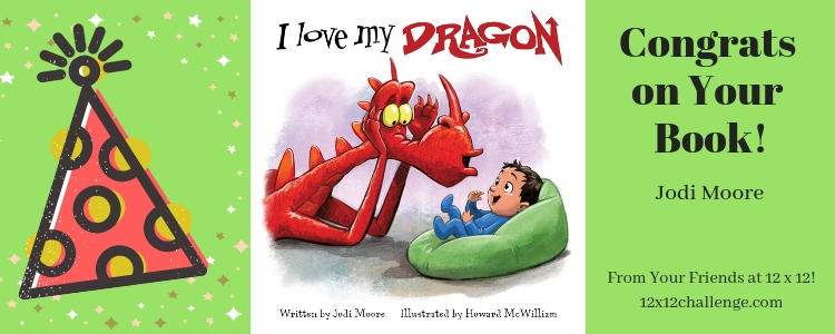I Love My Dragon by Jodi Moore banner