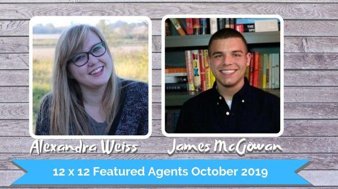 Alexandra Weiss And James McGowan – 12 X 12 Featured Agents October 2019
