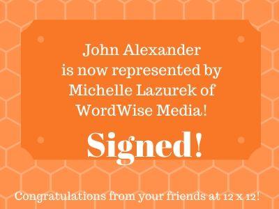 12 x 12 Signed - John Alexander