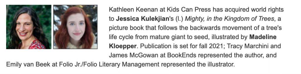 Jessica Kulekjian Announcement