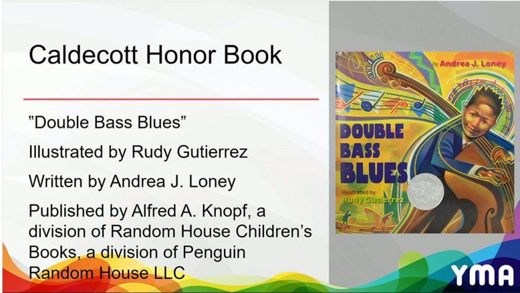 Andrea Loney Caldecott Honor Book Double Bass Blues